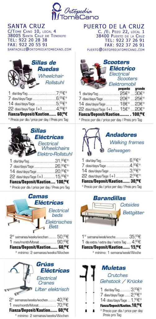Alquiler ortopedia tome cano - Ortopedia tome cano ...